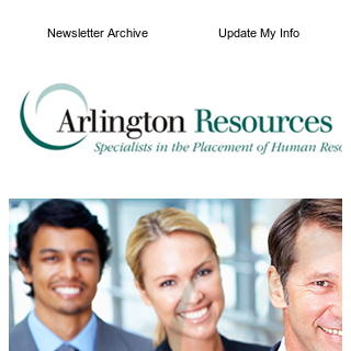 Top Jobs and Mid-Year Salary Survey Results from Arlington Resources