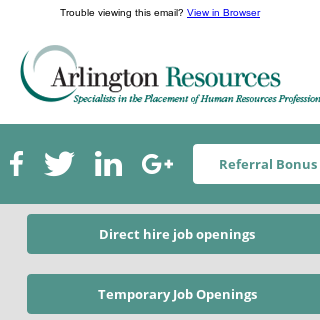Top Human Resources Talent Currently Available!